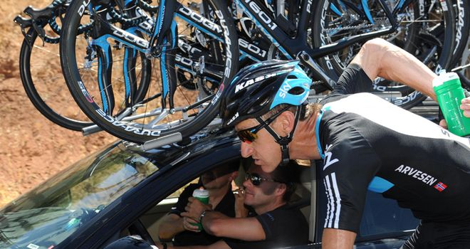Arvesen: Had to abandon the race on stage six