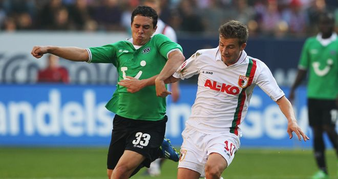 Daniel Baier: Thrilled to have signed a new deal with Augsburg