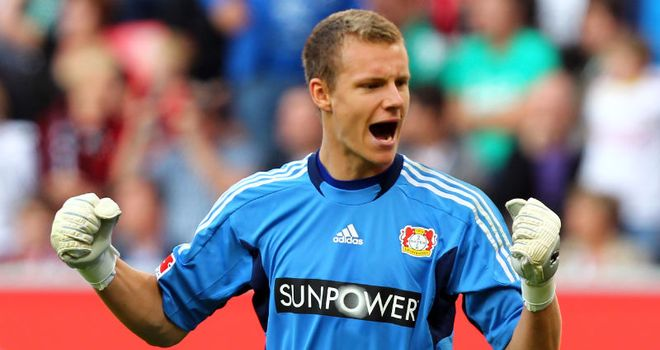 Leno: Keen to stay on at Leverkusen and take in regular games
