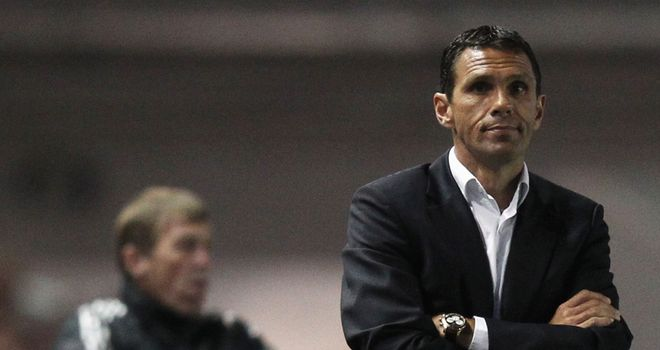 Poyet: Has reason to be cheerful despite Liverpool defeat