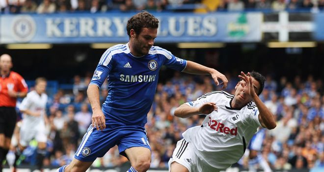 Juan Mata has had a busy week but will be looking for another strong display against Swansea