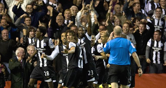 Coloccini: Celebrates Toon's winner