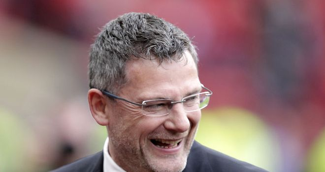 Levein: Backed by McGregor and Caldwell as the nation bids to qualify for Euro 2012