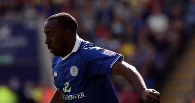 Darius Vassell: Leicester fear the striker suffered a serious knee injury against West Ham last weekend