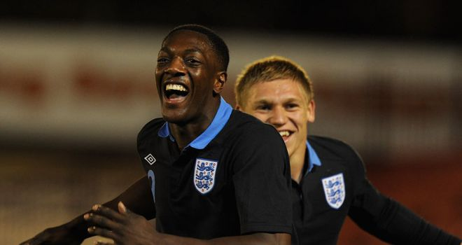 Sordell: Among the goals for the Young Lions in their victory over Israel