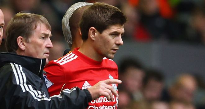 Gerrard: Yet to start a game for Liverpool this season