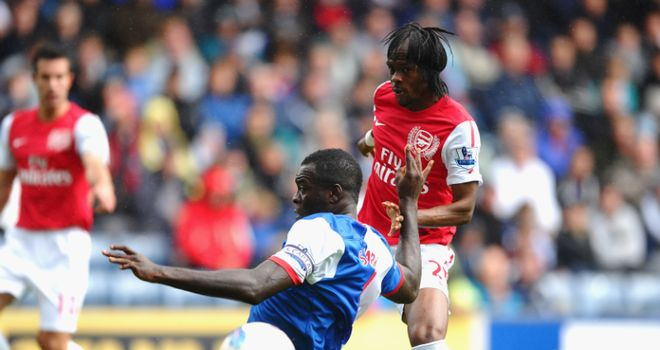 Gervinho fired Arsenal ahead, but the Gunners were made to pay for defensive blunders