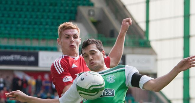 Murray: Holds off Dons' Fyvie