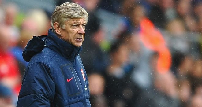 Wenger: Gunners boss has come under pressure in the opening weeks of season