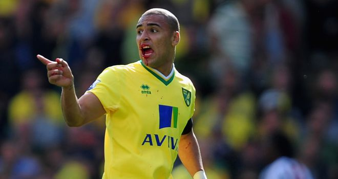 James Vaughan: Norwich striker has been linked with Celtic but Chris Hughton has heard nothing