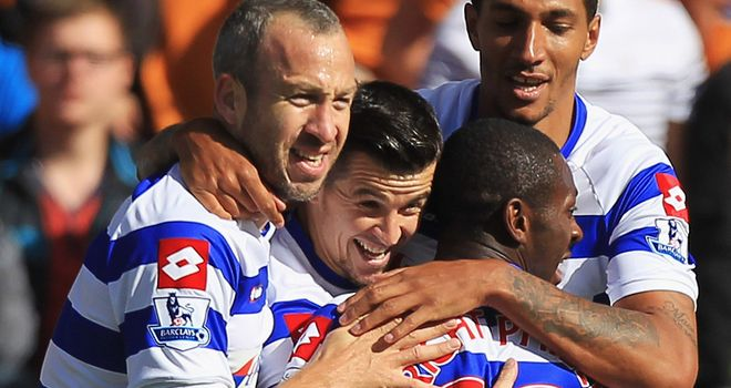 Barton broke the deadlock for QPR inside the opening eight minutes