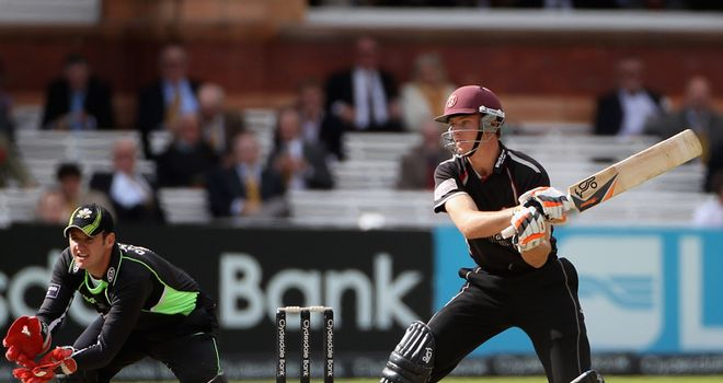 Surrey and Somerset: Will meet again in 2012