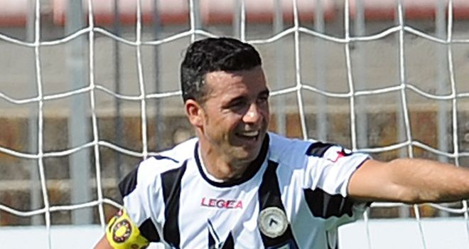 Di Natale: Spot on for Udinese