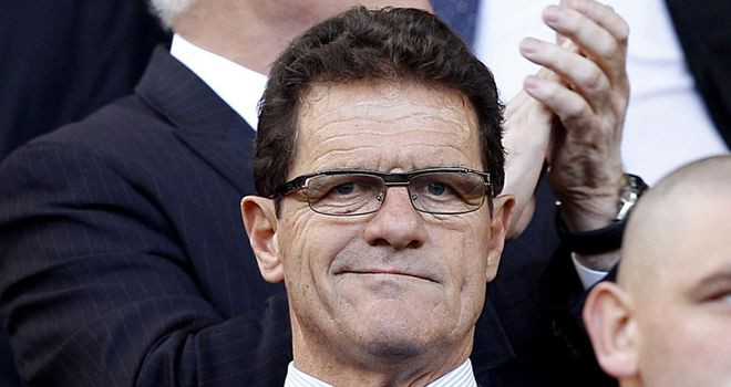 Capello: Led England to successive qualifying wins earlier this month