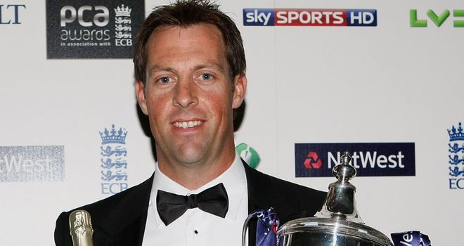 Marcus Trescothick: Wins award for third time
