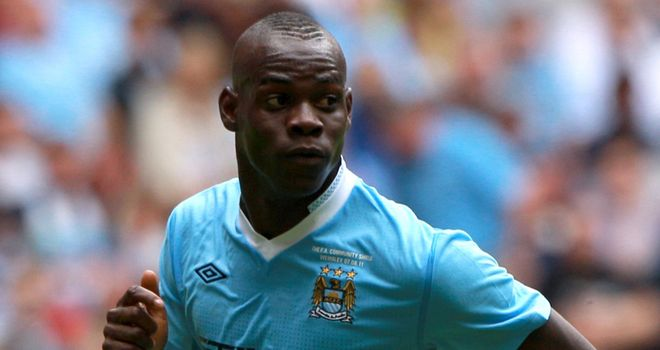 Balotelli: Has been praised by Milner and has also been backed by his manager