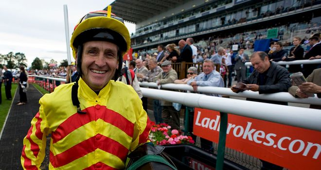 Niall McCullagh: Could ride Akeed Mofeed in the Irish Derby