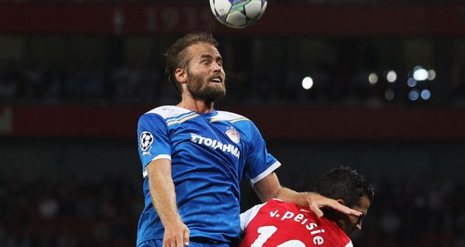Mellberg: Felt Olympiakos' slow start cost them dearly at Emirates Stadium