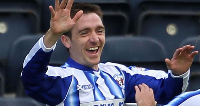 Heffernan: Hat-trick hero for Killie