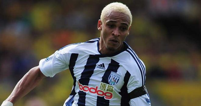 Peter Odemwingie: Striker is battling to overcome a foot problem in time for Sunday's derby clash