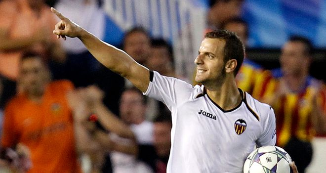 Soldado: could he be the next name to leave Valencia?