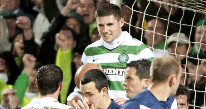 Gary Hooper: Celtic striker is hoping the SPL club's squad remains intact during the January transfer window