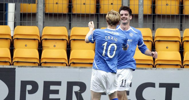 Sheridan: Celebrates his second with Craig