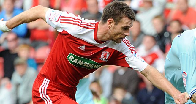 Stephen McManus: Recalled from his loan spell with Bristol City