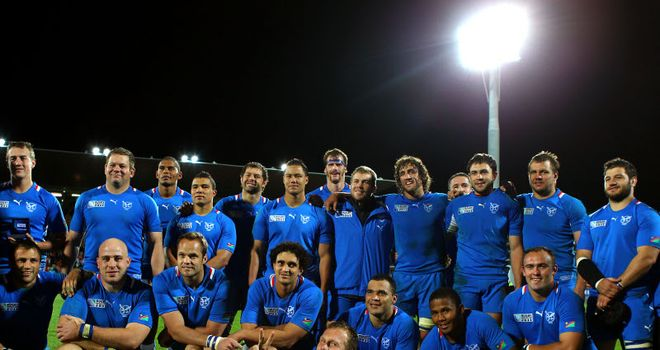 Namibia: should only play similar-level nations at the World Cup, says Stuart