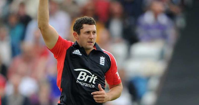 Bresnan: hoping to continue impressive T20 form