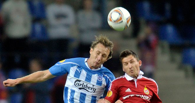 Andreas Johansson: Notched early opener for Odense