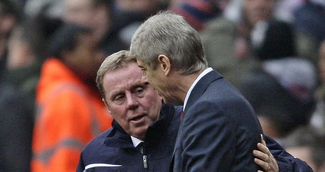 Candidates: Redknapp and Wenger in the frame for England?