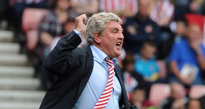 Steve Bruce: Delighted at win over Leeds
