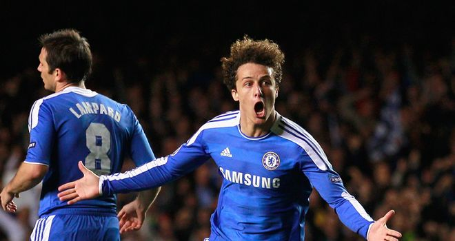 David Luiz: Hoping to retain his place in Chelsea's starting XI for Sunday's trip to QPR