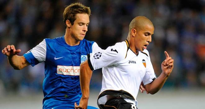 Midfield tussles were the order of the day as Genk and Valencia could not be separated