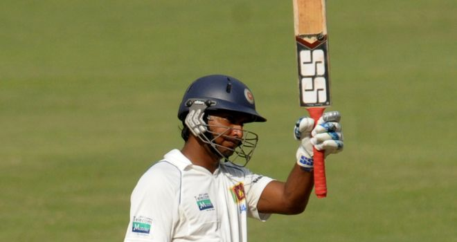 Sangakarra: keen to mark century of Tests with a victory