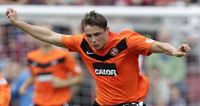 Allan: Turned down the offer of a new contract at Dundee United and Houston is furious with his demands