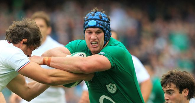 O'Brien: switched across the back row