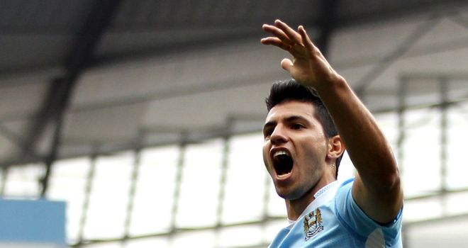 Aguero: Scored three times against Wigan