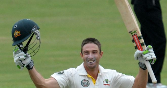 Second generation: Marsh's father Geoff played 50 Tests for Australia