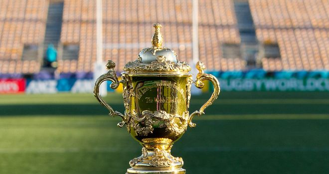 The Webb Ellis trophy: The ultimate goal for all the sides