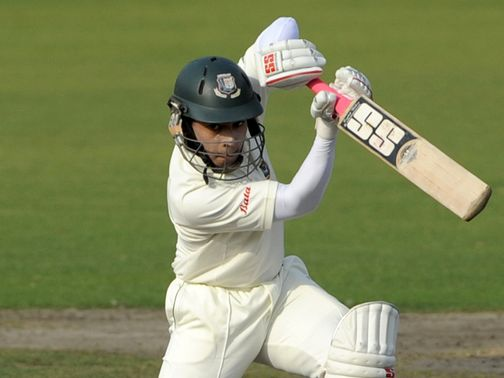 Mushfiqur Rahim: Couldn't add to his score