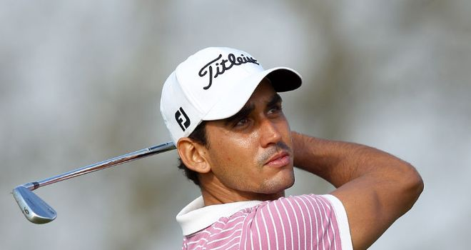 Rafael Cabrera-Bello: Leading in Portugal by one shot