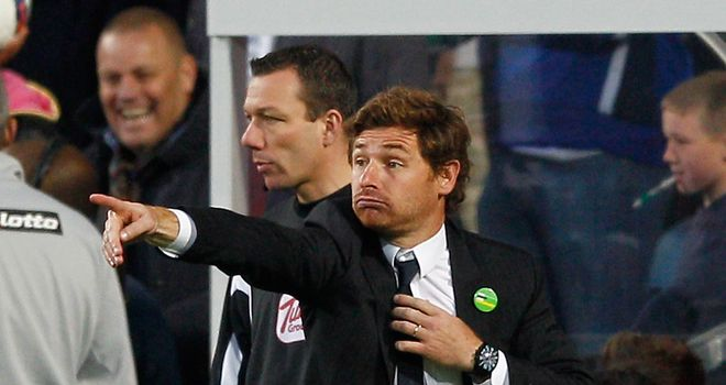 Andre Villas-Boas: Sticking to his words after criticising referee Chris Foy's performance at QPR