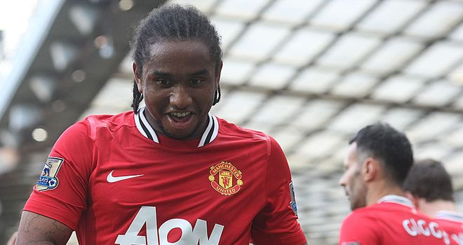 Anderson: Manchester United midfielder is doubtful for Saturday's game against Sunderland