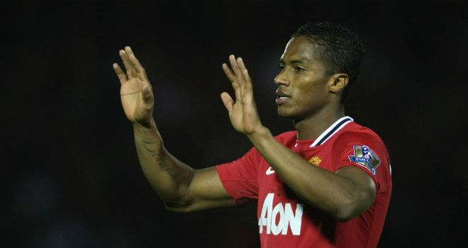 Antonio Valencia: Impressed with a spectacular long-range effort against Aldershot
