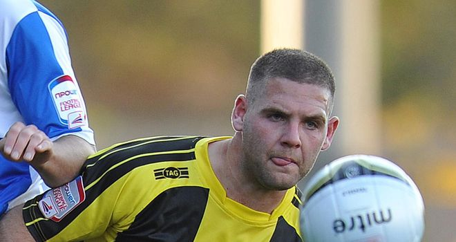 Billy Kee: Burton's hat-trick hero against Barnet on Saturday