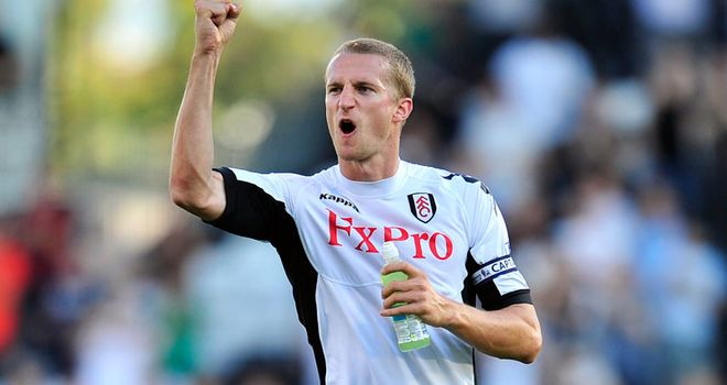 Brede Hangeland: Fulham defender is eyeing their third win on the road this season at Bolton