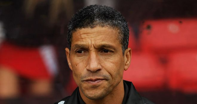 Chris Hughton: Birmingham manager unimpressed with Sepp Blatter's comments on racism