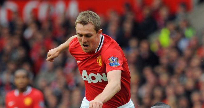 Darren Fletcher: Insists the title has not been lost despite Sunday's hammering by Man City